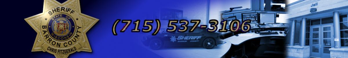 Barron County Sheriffs Department | Sheriff Chris Fitzgerald